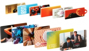 Usb Plastic Cards by Omnimedia