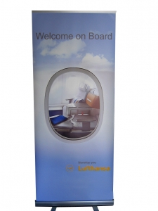 Roll Up Banner by Omnimedia