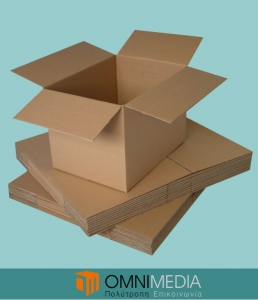 Corrugated Cardboard Boxes by Omnimedia
